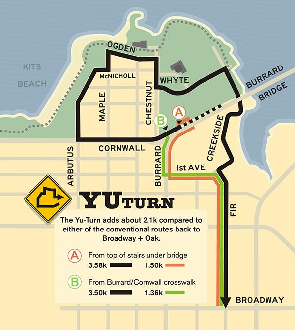 Yu Turn map