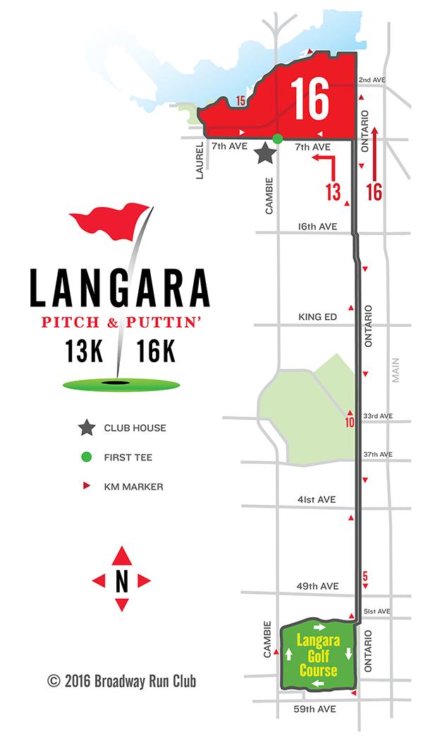 Langara Pitch & Puttin' 13 - 16k Map