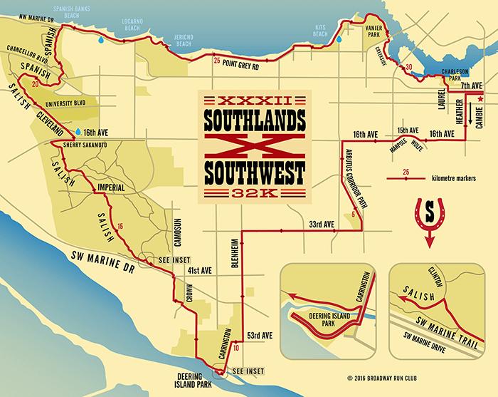 Southlands X Southwest 32k