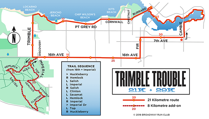 Trimble Trouble 21k map
