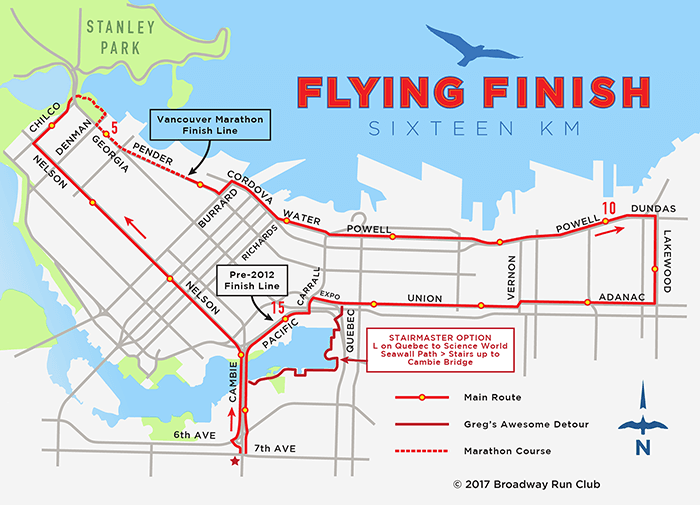Flying Finish 16k map