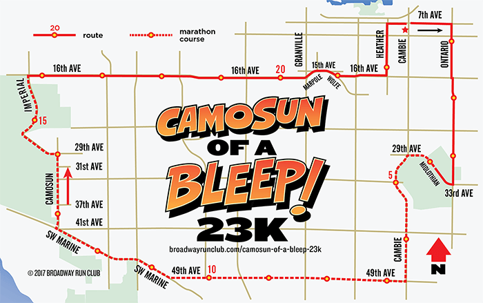 Camosun of a Bleep! 23k map