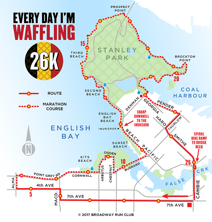 Every Day I'm Waffling 26k map