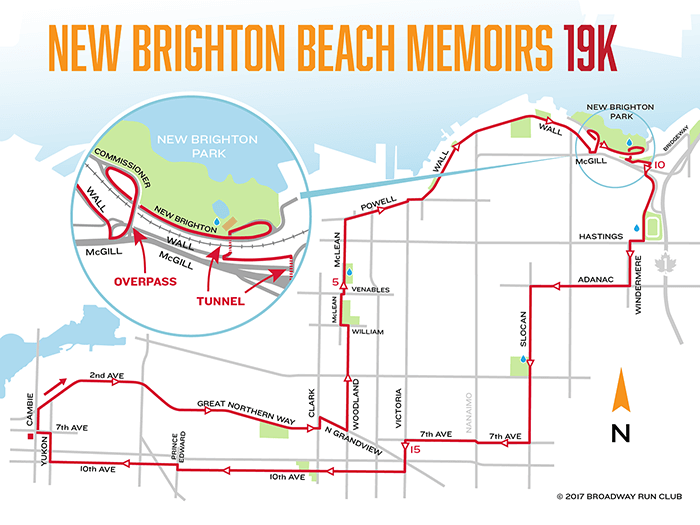 New Brighton Beach Memoirs 19k map