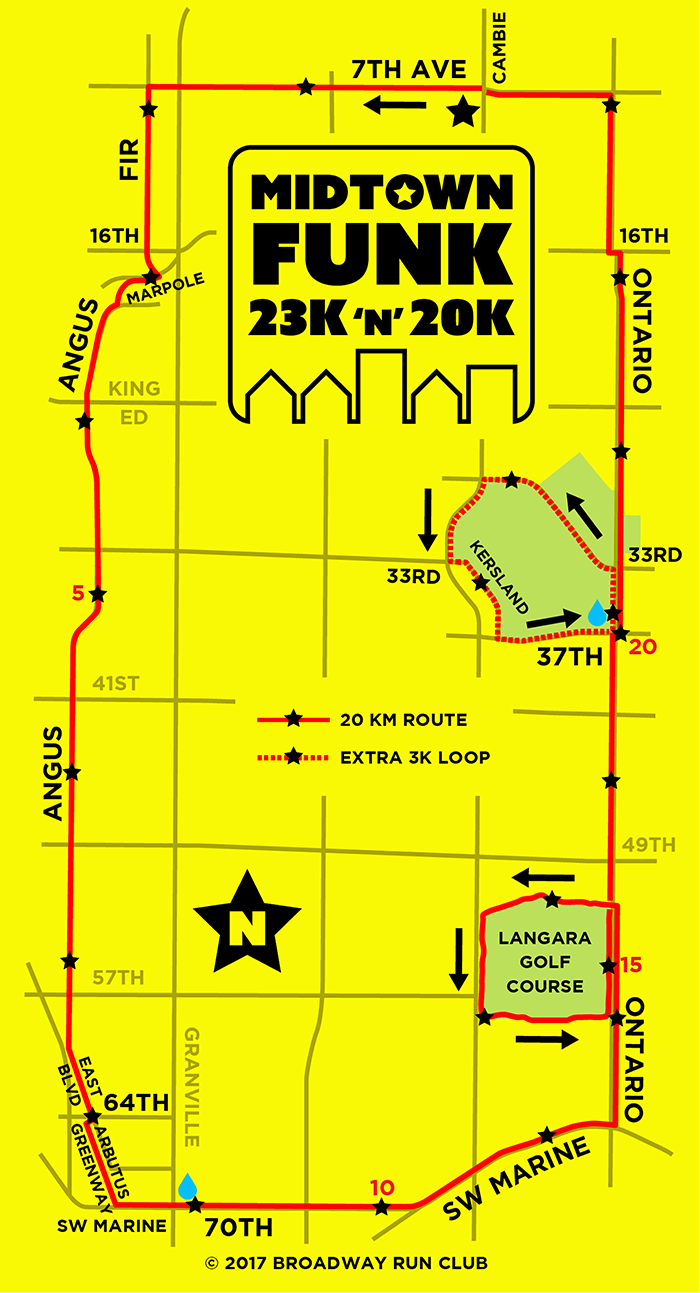 Midtown Funk 23k & 20k map