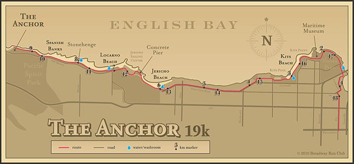 Anchor Run 19k map