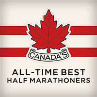 Canada's All-Time Best Half Marathoners