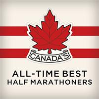 Canada's All-Time Best Half Marathoners