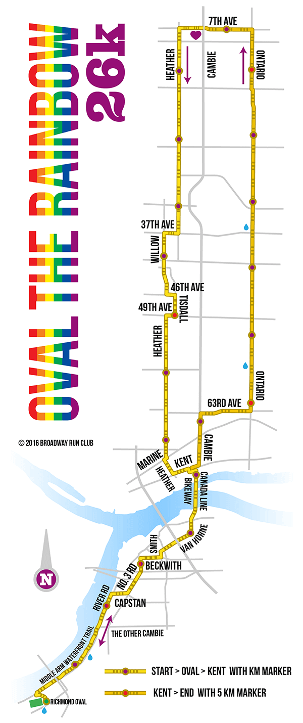 Oval the Rainbow 26k map