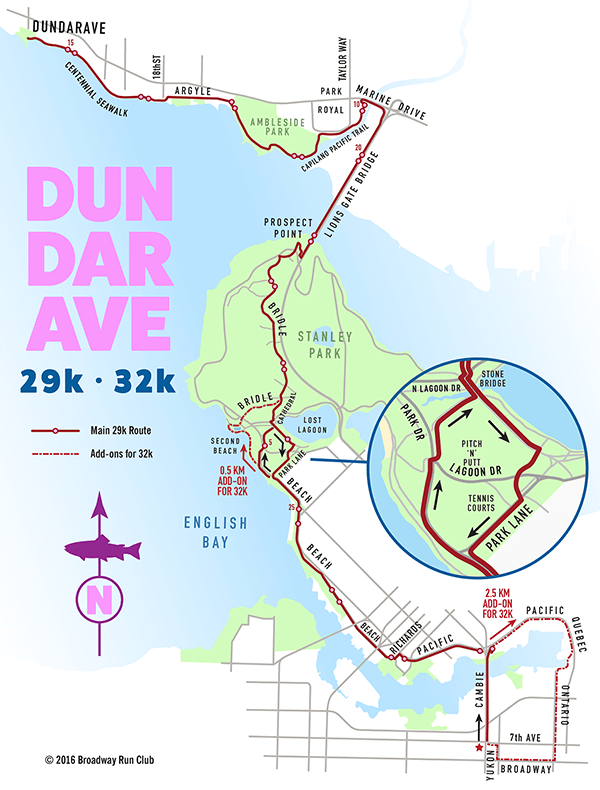 Cambie Dundarave 29k map