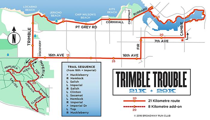 Trimble Trouble 21k map