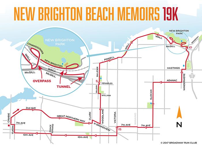 New Brighton Beach Memoirs 19k map