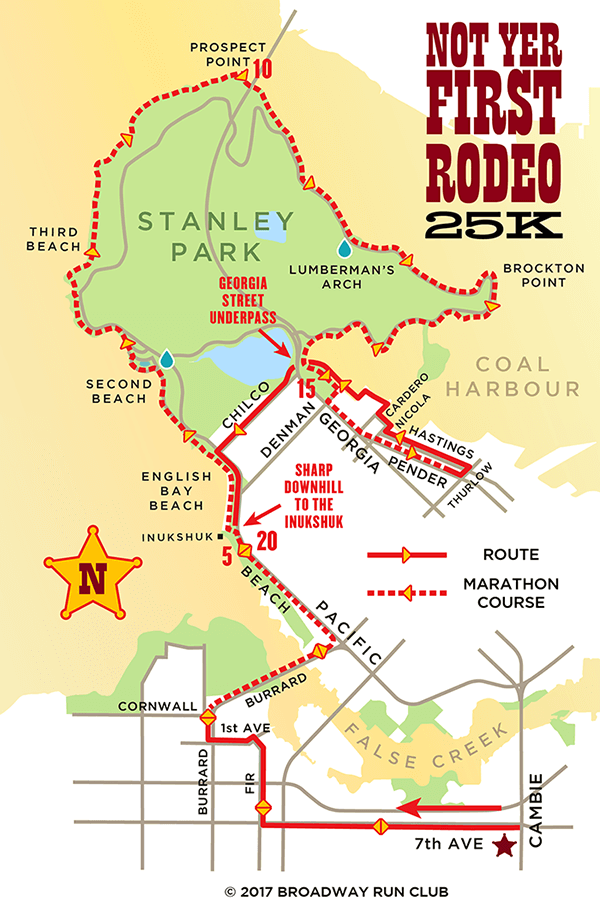 Not Yer First Rodeo 25k map