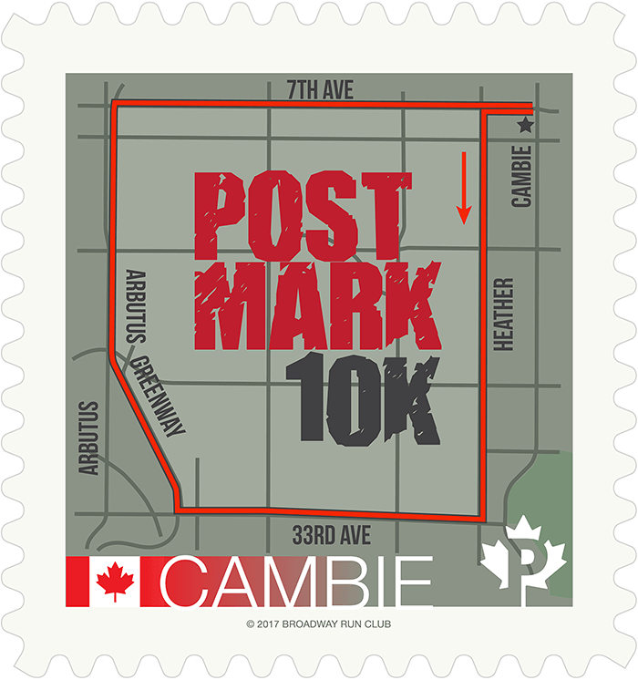Post Mark 10k map