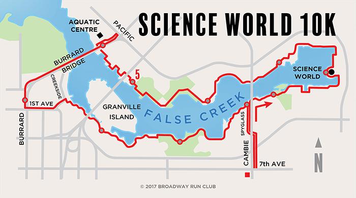 Science World Loop 10k
