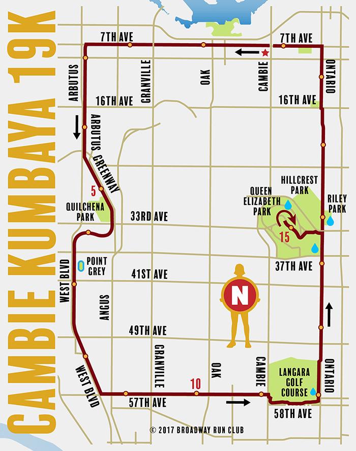 Cambie Kumbaya 19k map