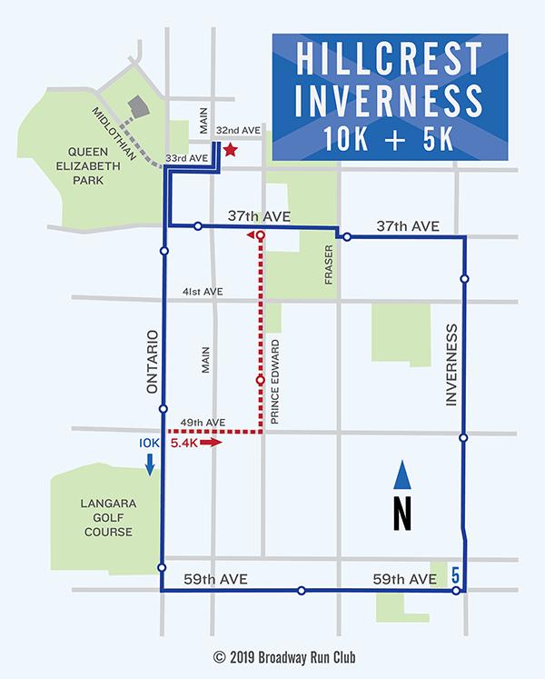 Hillcrest Inverness Loop 10k