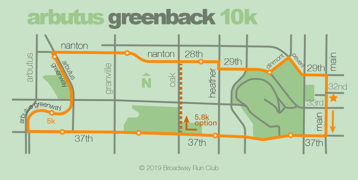 Arbutus Greenback 10k