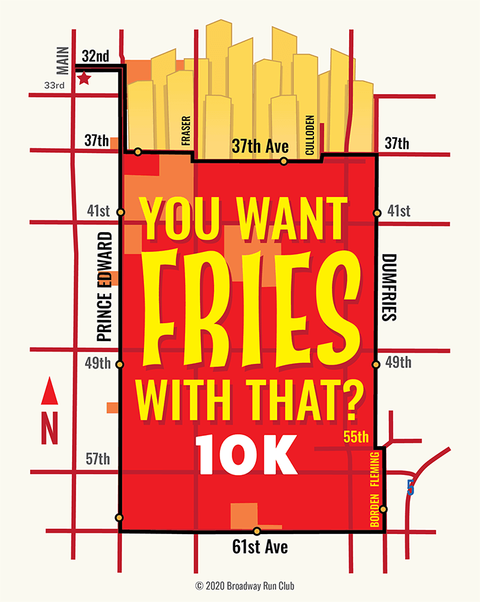 You Want Fries With That? 10k map