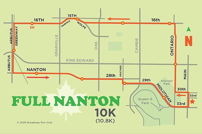 Full Nanton 10k map